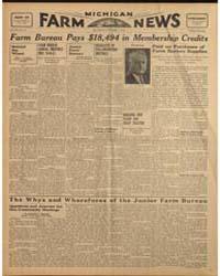 Michigan Farm News : Volume Xvi, Number ... by Michigan State University