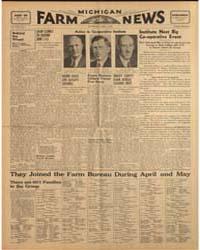 Michigan Farm News : Volume Xviii, Numbe... by Michigan State University