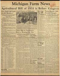 Michigan Farm News : Volume 32, Number 4 by Michigan State University