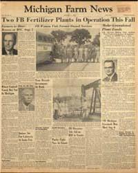Michigan Farm News : Volume 32, Number 8 by Michigan State University