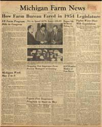 Michigan Farm News : Volume 32, Number 5 by Michigan State University