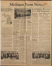Michigan Farm News : Volume 39, Number 3 by Michigan State University
