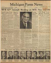 Michigan Farm News : Volume 39, Number 1... by Stanley M. Powell