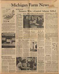Michigan Farm News : Volume 40, Number 7 by Michigan State University