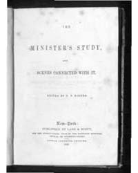 The Minister's Study and Scenes Connecte... by D. P. Kidder