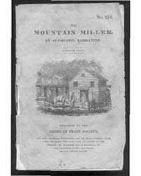 The Mountain Miller. an Authentic Narrat... by William A. Hallock