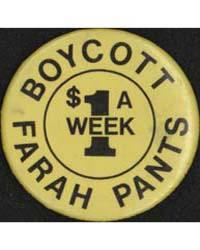 Boycott Farah Pants, a 1 Week $, Documen... by Michigan State University