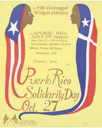 Puerto Rico Solidarity Day, Document Msu... by Michigan State University