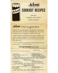 Accent Pure Monosodium Glutamate Cookout... by Michigan State University