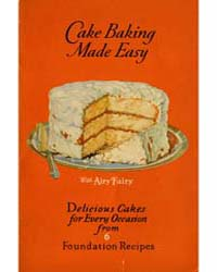 Cake Baking Made Easy, Document Msuspcsb... by Michigan State University