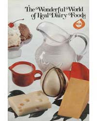 The Wonderful World of Real Dairy Foods,... by Michigan State University