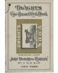 Dwight's Cow Brand Cook-book, Document M... by Michigan State University