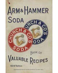 Arm & Hammer Soda Book of Valuable Recip... by Michigan State University