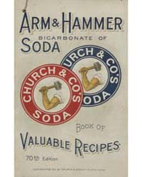 Arm & Hammer Bicarbonate of Soda Book of... by Michigan State University