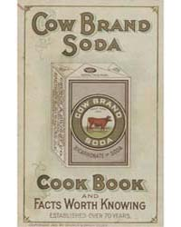 Cow Bread Soda, Cook Book and Facts Wort... by Michigan State University