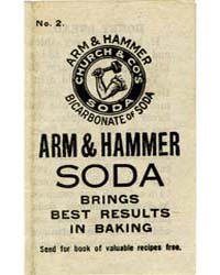 Arm & Hammer Soda, Number 2, Document Ms... by Michigan State University