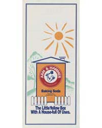 Arm & Hammer and Cow Natural Baking Soda... by Michigan State University