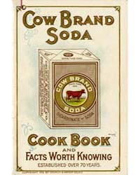 Cow Brand Soda, Cook Book, Document Msus... by Michigan State University