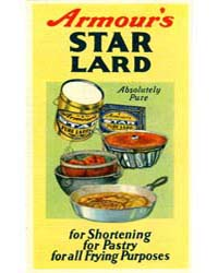 Armour's Star Lard, Document Msuspcsbs A... by Michigan State University