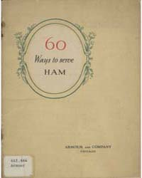 60 Ways to Serve Armour's Star Ham, Docu... by Michigan State University