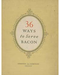 Armour's Fixed Flavor Star Bacon Recipes... by Michigan State University