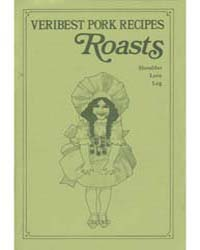 Veribest Pork Recipes Roasts Shoulder Lo... by Michigan State University