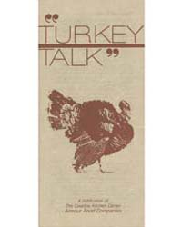 Turkey Talk, Document Msuspcsbs Armo Arm... by Michigan State University