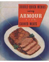 Double-quick Menus Using Armour Stat Can... by Michigan State University