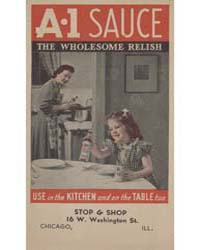 A. 1 Sauce, the Wholesome Relish, Docume... by Michigan State University