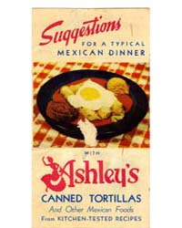 Suqqestions for a Typical Mexican Dinner... by Michigan State University