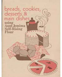 Breads, Cookies Desserts & Main Dishes U... by Michigan State University