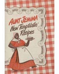 Aunt Jemima New Temptilatin Recipes, Doc... by Michigan State University