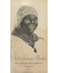 Aunt Jemima Recipes, the Quaker Oats Com... by Michigan State University