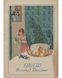 Baker's Coconut Recipes, Document Msuspc... by Michigan State University