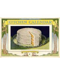 Kitchen Calendar, Turnup This Leaf and H... by Walter MacK