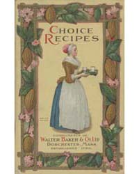 Chocolate and Cocoa Recipes, 1926, Docum... by Miss Parloa