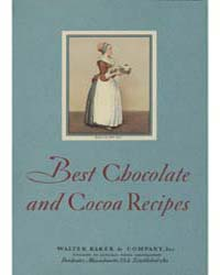 Best Chocolate and Cocoa Recipes, Docume... by Michigan State University