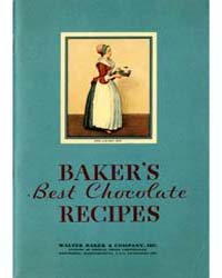 Baker's Best Chocolate and Cocoa Recipes... by Michigan State University