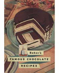 Famous Chocolate Recipes, Document Msusp... by Frances Lee Barton