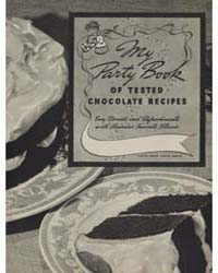 My Party Book of Tested Chocolate Recipe... by Michigan State University
