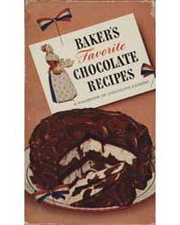 Baker's Favorite Chocolate Recipes, Docu... by Michigan State University
