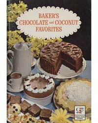 Baker's Chocolate and Coconut Favorites,... by Michigan State University