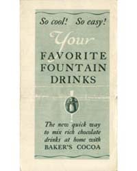 Your Favorite Fountain Drinks, Document ... by Michigan State University
