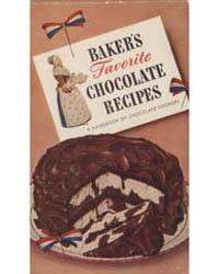 Baker's Favorite Chocolate Recipes, Docu... by Michigan State University