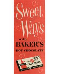 Sweet Ways with Baker's Dot Chocolate, D... by Michigan State University