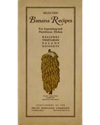 Selected Banana Recipes, Document Msuspc... by Michigan State University