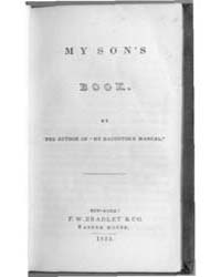 My Sons Book, Document Mysonsbook by Michigan State University