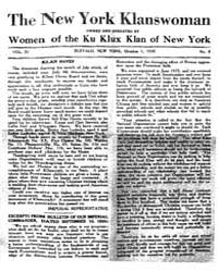 The New York Klanswoman Owned and Pkrate... by Klan Haven