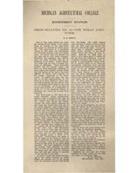 Press Bulletin Number I5.-the Wheat Join... by R. H. Pettit