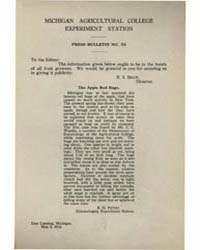Press Bulletin Number 35, Document Pb-35 by R. S. Shaw